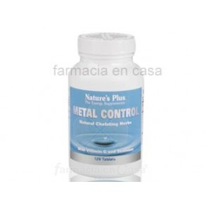 NATURE PLUS METAL CONTROL QUELADOR NATURAL 120 COMPRIMIDOS