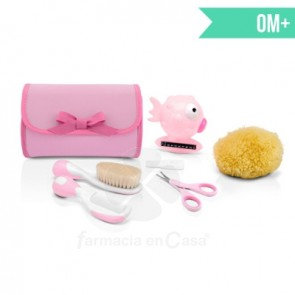 CHICCO SET MY FIRST BEAUTY ROSA 0M+ 5 ACCESORIOS