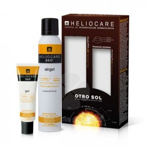 HELIOCARE 360º SPF 50+ AIRGEL CORPORAL 200ML + GEL SPF 50+ 25ML