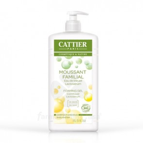 CATTIER GEL DE BAÑO ESPUMOSO EXTRACTO DE YOGUR 1L